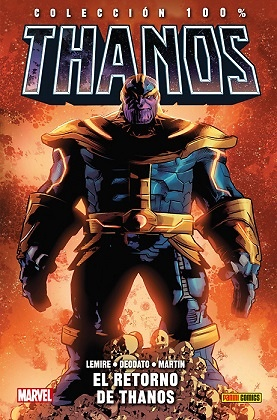 100% Marvel HC. Thanos 1