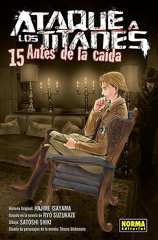 ATAQUE A LOS TITANES: ANTES DE LA CAÍDA 15