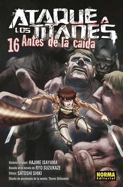 ATAQUE A LOS TITANES ANTES DE LA CAÍDA 16