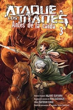 ATAQUE A LOS TITANES ANTES DE LA CAIDA nº 3