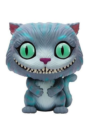 Alicia en el País de las Maravillas 2010 POP! Disney Vinyl Figura Gato de Cheshire 9 cm