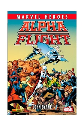 Alpha flight (JOHN BYRNE) Coleccion Marvel Heroes nº 56
