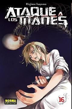 Ataque a los titanes nº 16