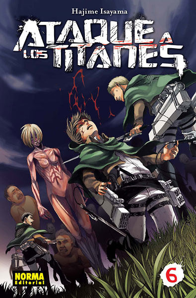 Ataque a los titanes nº 6