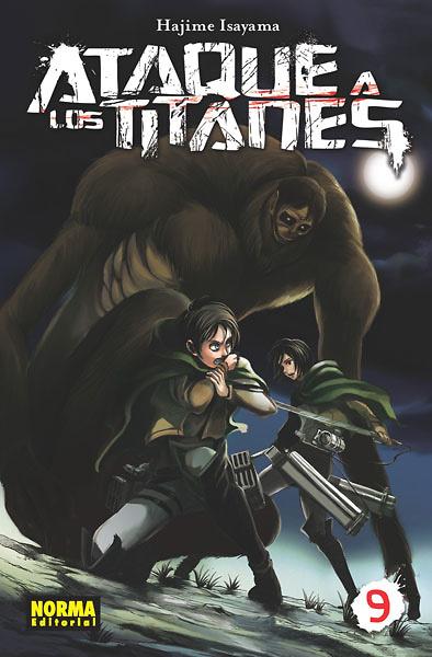 Ataque a los titanes nº 9