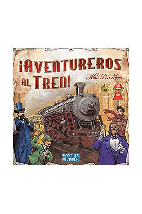 Aventureros al tren Juego de tablero