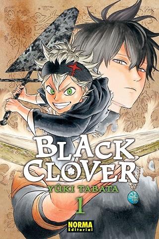 BLACK CLOVER Nº 1