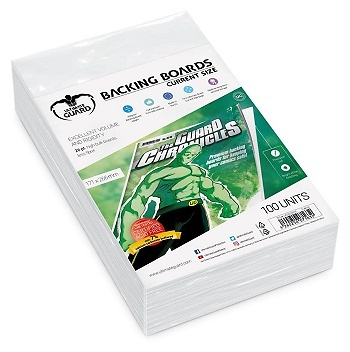 Backing Boards tamaño Current (100 unidades)