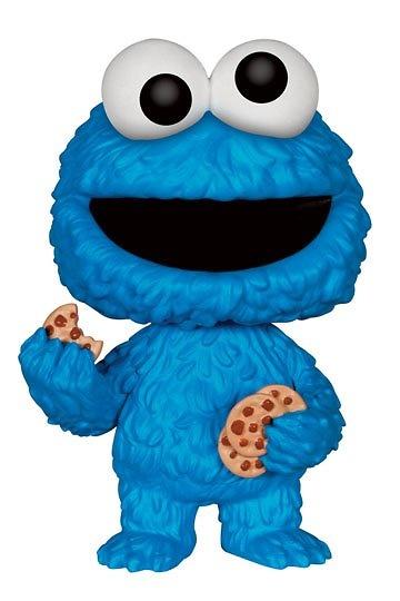 Barrio Sésamo Figura POP! TV Vinyl Cookie Monster 9 cm