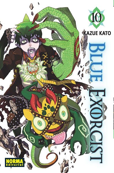 Blue Exorcist nº 10