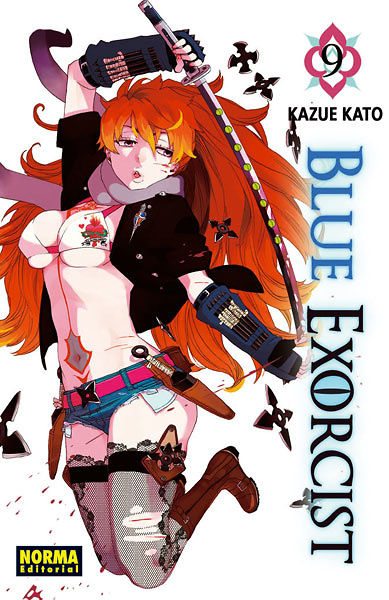 Blue Exorcist nº 9