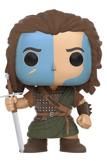 Braveheart POP! Movies Vinyl Figura William Wallace 9 cm