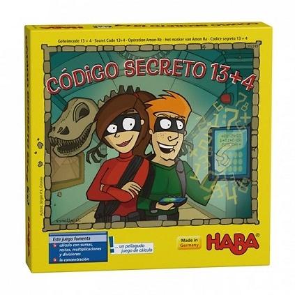 Código secreto 13+4 - Juego de cálculos