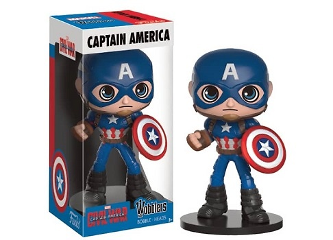 CAPITAN AMERICA FIG.16.5 CM WOBBLERS MARVEL