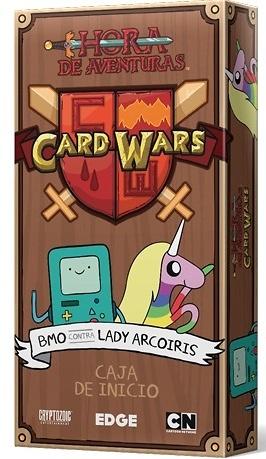 CARD WARS BMO CONTRA LADY ARCOIRIS