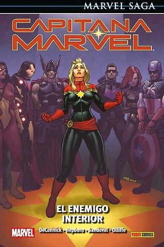Capitana Marvel 3 El enemigo interior