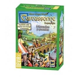 Carcassonne Mercados y puentes