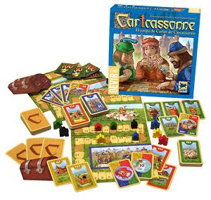 Cartcassonne el juego de cartas de Carcassonne