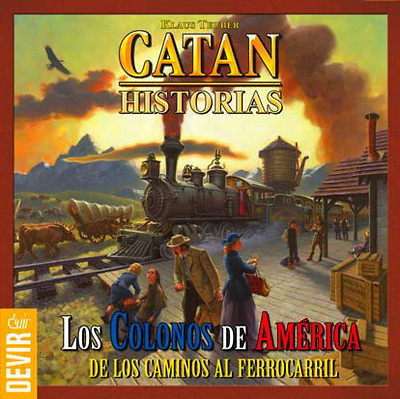 Catan Historias Los colonos de America