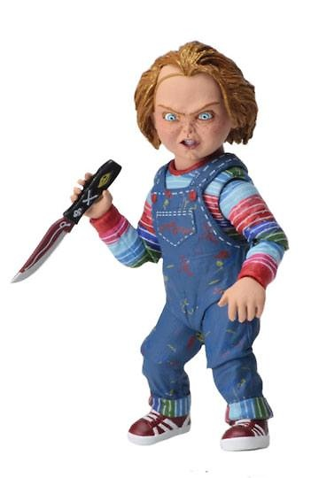 Chucky el muñeco diabólico Figura Ultimate Chucky 10 cm