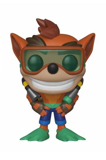 Crash Bandicoot POP! Games Vinyl Figura Scuba Crash 9 cm