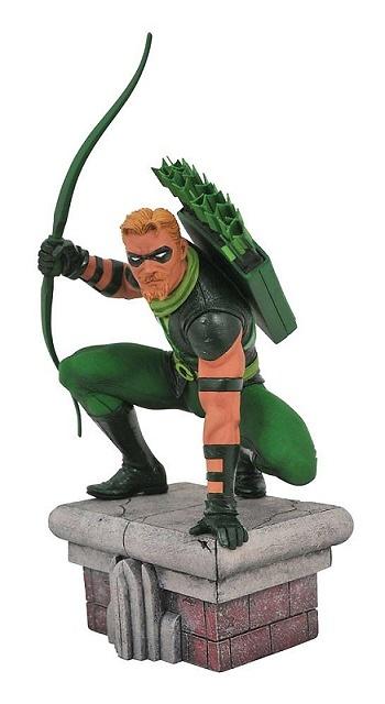 DC Comic Gallery Estatua Green Arrow 20 cm