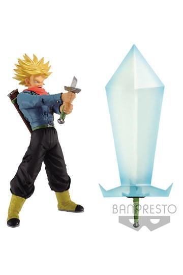 Dragonball Super Figura de Super Saiyan 2 Trunks con Blade of Hope 24 cm