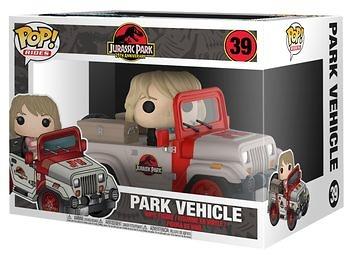 Funko Pop! Jurassic Park Vehiculo
