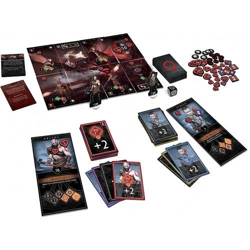 God of War el juego de cartas