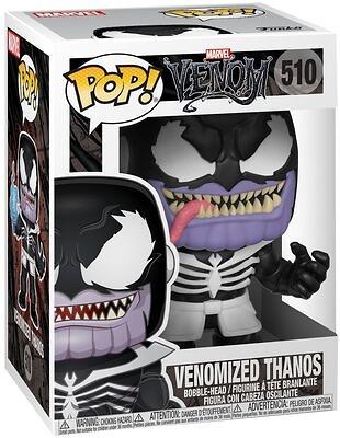 Marvel Venom POP! Marvel Vinyl Figura Thanos 9 cm