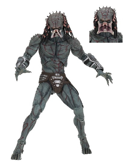 Predator 2018 Figura Deluxe Armored Assassin Predator 30 cm