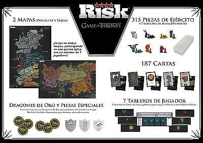 RISK JUEGO DE TRONOS EDICION DELUXE  Juegos de tablero y cartas