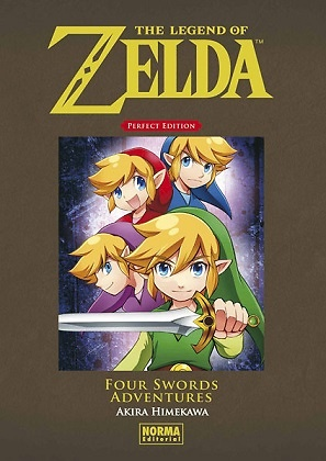 THE LEGEND OF ZELDA PERFECT EDITION FOUR SWORDS ADVENTURES