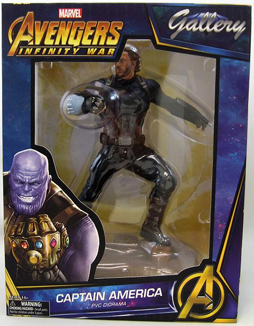 Vengadores Infinity War Marvel Gallery Estatua Captain America 23 cm