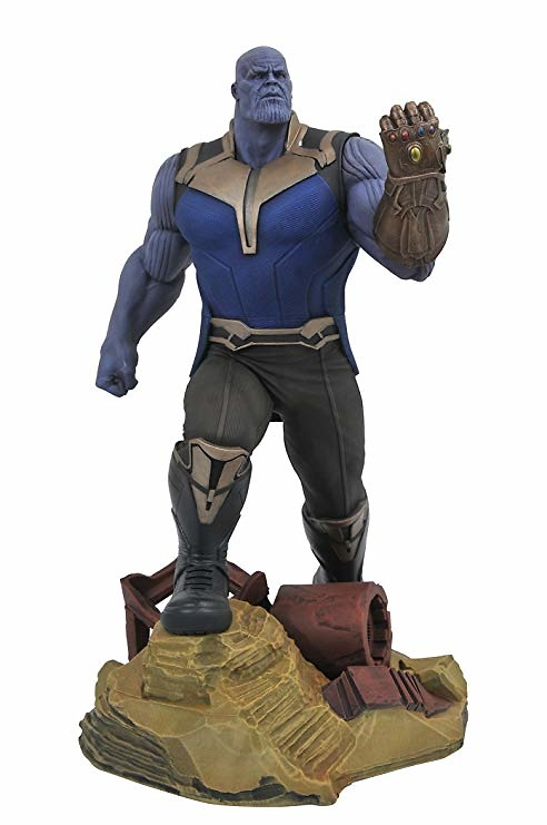 Vengadores Infinity War Marvel Gallery Estatua Thanos 23 cm