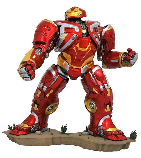 Vengadores Infinity War Marvel Movie Gallery Estatua Deluxe Hulkbuster MK2 25 cm