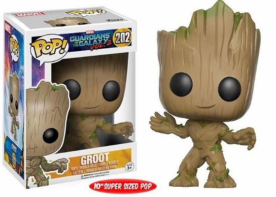 YOUNG GROOT LIFE SIZE FIG.25 CM VINYL POP GUARDIANS OF THE GALAXY VOL. 2