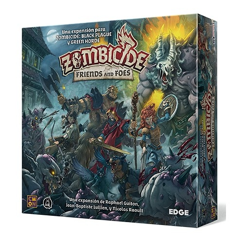 Zombicide Friends and Foes