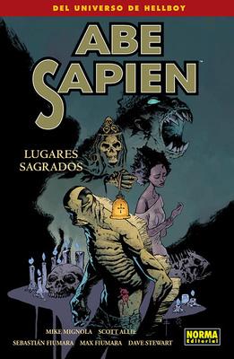 ABE SAPIEN nº 5 LUGARES SAGRADOS