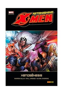 ASTONISHING X-MEN nº 6 XENOGENESIS (MARVEL DELUXE)