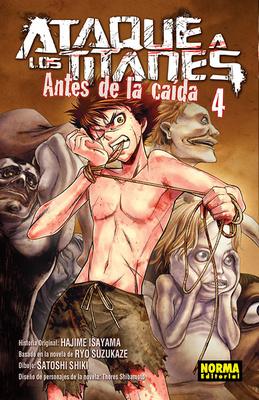 ATAQUE A LOS TITANES ANTES DE LA CAÍDA nº 4