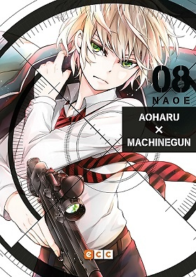 Aoharu x Machinegun núm. 08