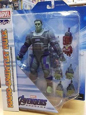 Avengers: Endgame Marvel Select Figura Hulk Hero Suit 23 cm