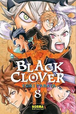 BLACK CLOVER 8