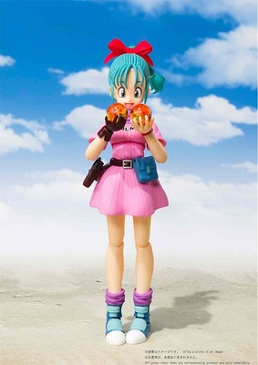 BULMA ADVENTURE BEGINS FIGURA 13.5 CM DRAGON BALL SH FIGUARTS
