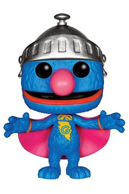 Barrio Sésamo Figura POP! TV Vinyl Super Grover 9 cm