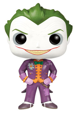 Batman Arkham Asylum POP! Vinyl Figura The Joker 10 cm