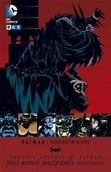 Batman fundido en negro