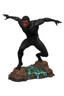 Black Panther Marvel Movie Gallery Estatua Black Panther Unmasked 23 cm