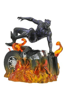 Black Panther Marvel Movie Gallery Estatua Black Panther Version 2 23 cm
